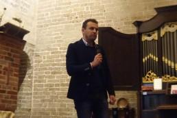Marco op het podium